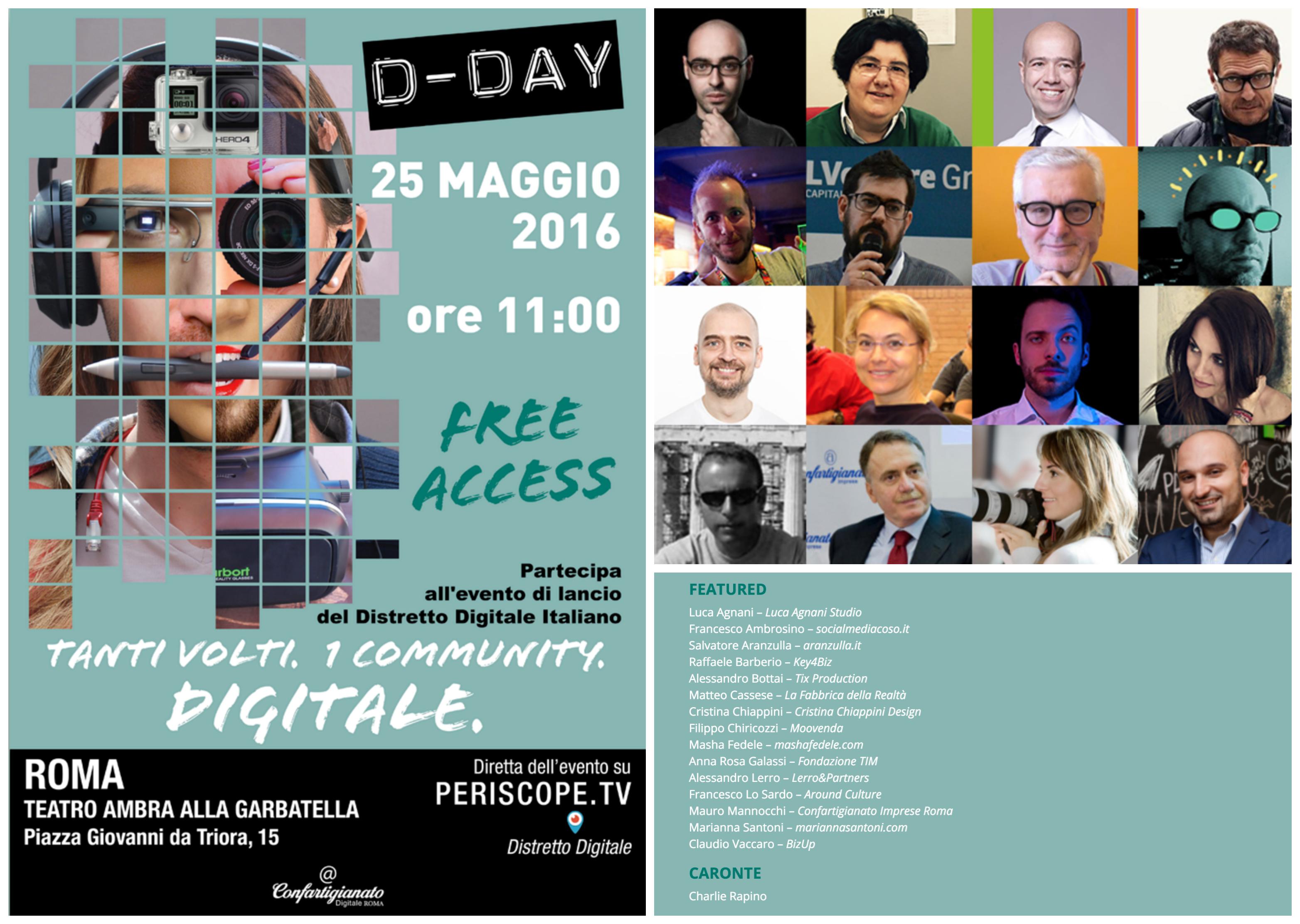 D-DAY ROMA 25 Maggio 2015 — Confartigianato Digitale